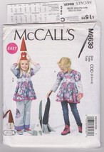 Pattern McCalls 6639 Girls Size 2 3 4 5 Top Pants Easy, 2012 - $3.99