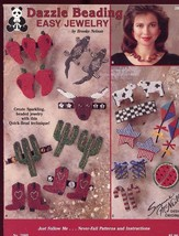 Dazzle Beading Easy Jewelry Clay/Seed Bead Design/Instructions Booklet - $11.67