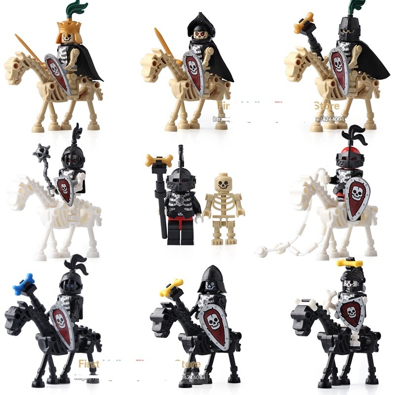 New Medieval Castle Skeleton Knights Lego And 50 Similar Items