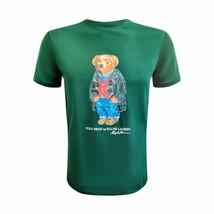 Polo Ralph Lauren Mens Limited Polo Bear T-Shirt SMOKING JACKET TEDDY GR... - $99.95