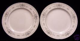 2 WADE DIANE DINNER  PLATES  FINE PORCELAIN CHI... - $10.88