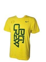 University Of Oregon Ducks Shirt Pitcrew Mens Small Yellow UofO Basketba... - $26.46