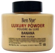 Authentic Ben Nye Luxury Banana Powder 1.5 oz Bottle Face Makeup Kim Kar... - $9.65