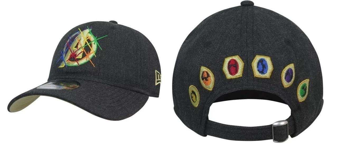 e37135d9366 Mar1212. Mar1212. Previous. New Era Marvel Avengers Infinity War Logo  9Twenty Adjustable Hat Cap ...