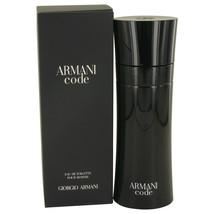 Armani Code Cologne By Giorgio Armani Eau De Toilette Spray 6.7 Oz Eau De Toile - $124.95