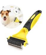 Pet Hair Grooming Brush Benepaw Undercoat Rake Mat Cat Dog Removing Dema... - $15.99