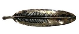 Vintage Stuart Nye Sterling Silver Leaf Pin - $28.49
