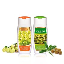 Amla, Shikakai with Reetha Shampoo and Olive Conditioner Combo Pack - $5.99+