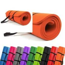 PROMIC Grand Tapis De Yoga Rembourré Avec Sangle Transport Pour Pilates,... - $41.44