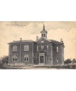 High School Silver Lake Indiana 1910 postcard - $7.43