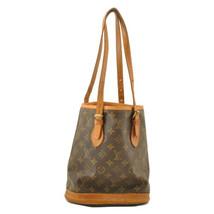 LOUIS VUITTON Monogram Bucket PM Shoulder Bag M42238 LV Auth 10710 **Sticky - $160.00