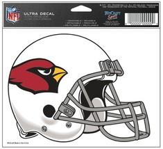 Arizona Cardinals Decal 5x6 Ultra Color**Free Shipping** - $12.45