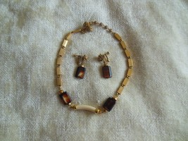 Vintage 1965 Mariam Haskell Necklace and Earring Set Pat. No. 3,176,475 - $150.00