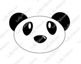 Panda DIGITAL Files:  Intant download. No physical product will be shipped.  PNG