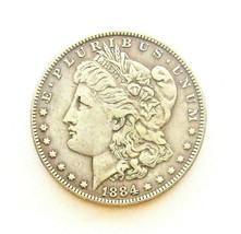 1884 P MORGAN SILVER DOLLAR  (VF)  MS++ #200054 - $44.55