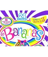 Banana Toys Bunch 5 Hidden Surprises And 7 Gemstone Stickers 36 Packs pe... - $44.54