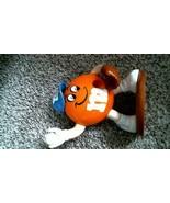 -176- M&M's Candy Dispenser Large Orange Baseball Player - $20.25