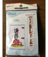 Silkwood Cross Stitch Kit Child Height Chart Elephant Kitten Rhino NEW - $19.99