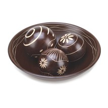 Decor Ball Bowl Set, Decoration Balls For Bowls, Mdf Wood Decor Ball Set... - $24.58