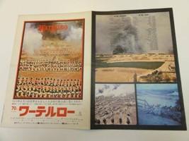 WATERLOO Japan Movie Original Poster Press B3 1970 Christopher Plummer ... - $63.18