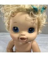 2010 Hasbro Alive Soft Face Interactive Blonde Hair Blue Eyes Girl Doll ... - $34.99