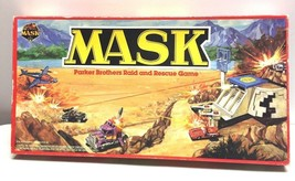 MASK Raid and Rescue Game Parker Brothers Board Game 1985 Complete - $21.78