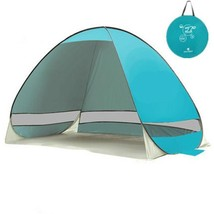 Quick Automatic Opening beach tent  sun shelter UV-protective waterproof - $46.75+