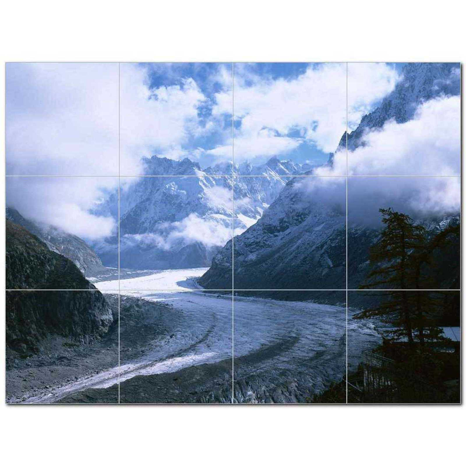 Primary image for Winter Photo Ceramic Tile Mural Kitchen Backsplash Bathroom Shower BAZ406385