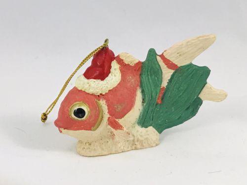 Vintage Kurt S Alder Goldfish Christmas Ornament