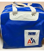 Vintage American Airlines Pilot Carry On Travel Bag Suitcase Luggage 15x15x10 - $47.95