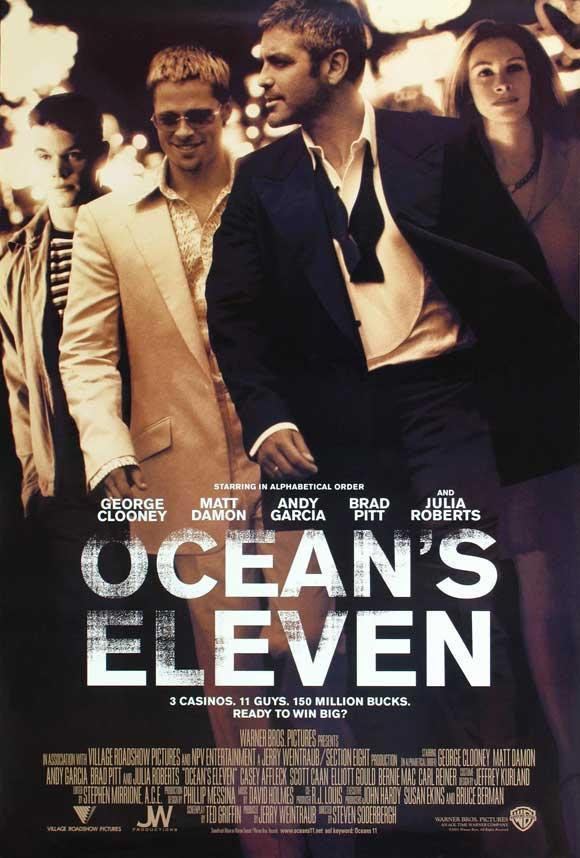 Ocean s eleven poster