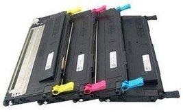 Compatible Samsung CLP-320 Toner Set (Black, Cyan, Yellow, Magenta) - $129.95