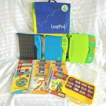 Leapfrog LeapPad Learning Game System Family Pack 29 Pieces Leap Frog Pad  - $149.99