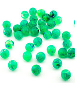 Glow In The Dark Bouncing Balls (4 dozen/48 balls) Green Favor Party Toy... - $5.89