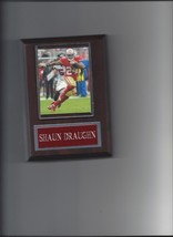 SHAUN DRAUGHN PLAQUE SAN FRANCSICO FORTY NINERS 49ers FOOTBALL NFL  - $2.96