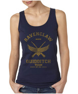 BEATER Old Ravenclaw Quidditch team Harry potter Women Tank Top Color NAVY - $23.00+