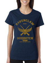 SEEKER Old Ravenclaw quidditch team captain YELLOW ink Women tee NAVY S ... - $20.00+