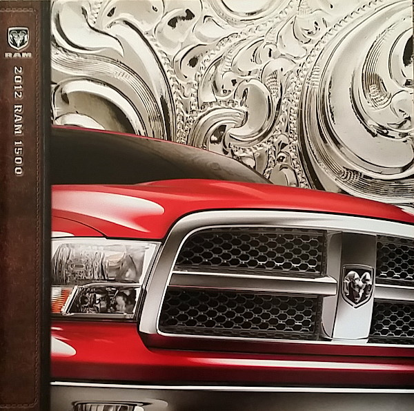 Primary image for 2012 RAM 1500 sales brochure catalog 12 Big Horn Outdoorsman Laramie Dodge