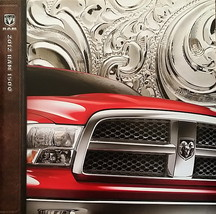 2012 RAM 1500 sales brochure catalog 12 Big Horn Outdoorsman Laramie Dodge - $8.00