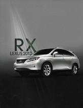 2012 Lexus RX 350 450h HYBRID brochure catalog 12 US - $9.00