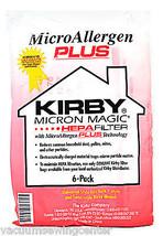 Kirby Magic HEPA FILTER Micro Allergen Plus F Style Vacuum Bags 6 Pack 2... - $36.75