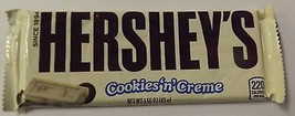 Hershey Cookies n Creme Chocolate Candy Bar 5 Count --All Candy Bars 5/$... - $7.50