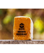 DrApis Brown Beeswax 454g (1 lb) bar raw & unfiltered from beekeeper in ... - $13.43
