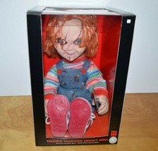"""CHUCKY DOLL Talking Animated Halloween Prop CHILDS PLAY 20"""" Tall New In Box - $101.97"""