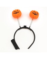 LED Light Up Flashing Pumpkins Halloween Party Costume Headband Accessor... - £2.16 GBP+