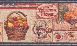 American Flag Rooster Fruit Basket Sunflower Watermelon Birdhouse Kitche... - $16.33