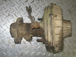 SUZUKI 1988 QUAD RUNNER 300 2X4 REAR CENTER SECTION WITH BRAKE ASSEMBLY ... - $50.00