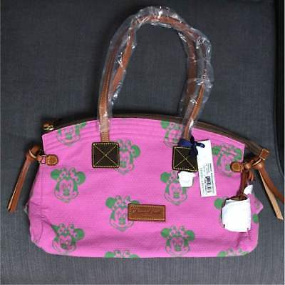Primary image for DOONEY&BOURKE x Disney Minnie mouse Domed Satchel hand tote bag Pink NEW
