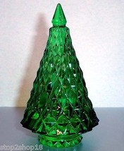 Baccarat Noel Diamant Diamond Fir Green Christmas Tree Crystal 2807392 New - $329.90