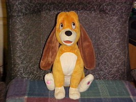 """14"""" Disney Copper Hound Plush Toy From Fox and The Hound The Disney Store - $140.24"""